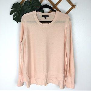 Banana Republic Cashmere Pink Knit Sweater XL